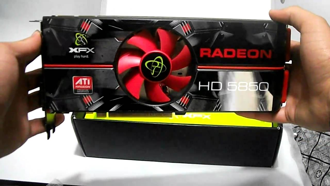 DRIVER FOR XFX ATI RADEON HD 5850