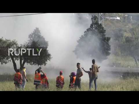 State of Palestine: West Bank settlement scene of clashes on 'Nakba Day'