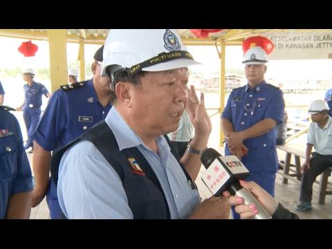 Malaysia Dismantles Tourist Facility at Kota Kinabalu Port after Shipwreck
