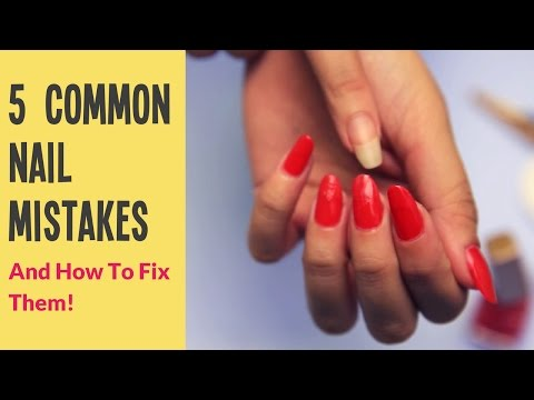 how to fix nail polish