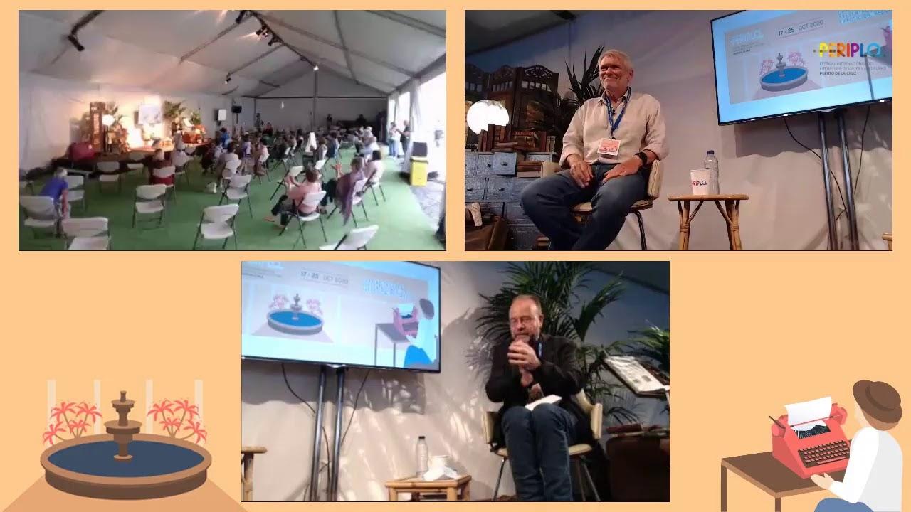 Participación en Periplo,festival internacional de literatura de viajes y aventuras