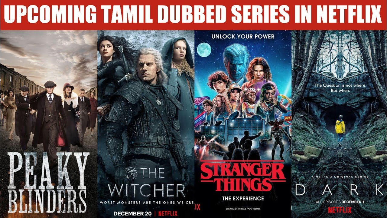 Download SK Times: Upcoming Tamil Dubbed Series - The Witcher, Peaky Blinders, Dark, Stranger Things, Lucifer