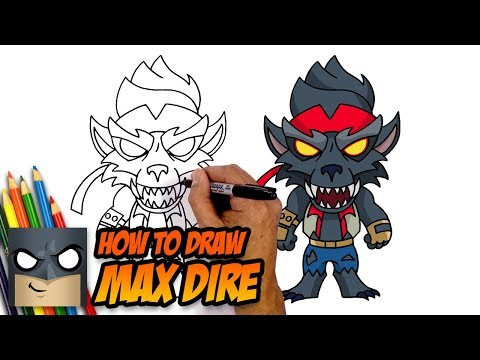 How To Draw Fortnite | MAX DIRE