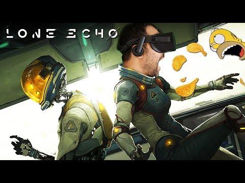 AVENTURA ESPACIAL EN REALIDAD VIRTUAL | Lone Echo (Oculus Rift Gameplay en Español)