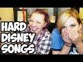 CRAZY Disney Song Challenge w/ Tiff Mink!