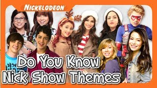 GUESS THAT NICKELODEON SHOW THEME!!!