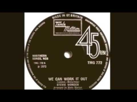 We Can Work It Out - Stevie Wonder (Live)