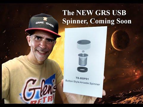 GRS USB only Arcade Spinner - sneak peek from Glen Planamento