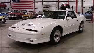 1988 Pontiac Trans Am GTA White