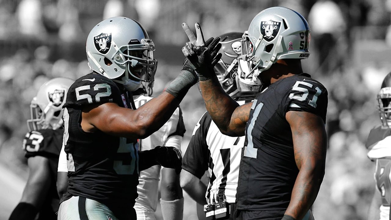 "Khalil Mack & Bruce Irvin ""The Slash Brothers"" 2016"