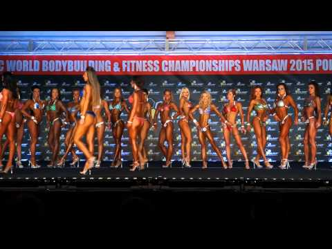 Ms. Shape - Round 1 - World Championships in Bodybuilding and Fitness NAC Warsaw 2015