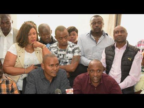 Nairobi Jubilee MCAs slam Murathe's call to impeach Sonko