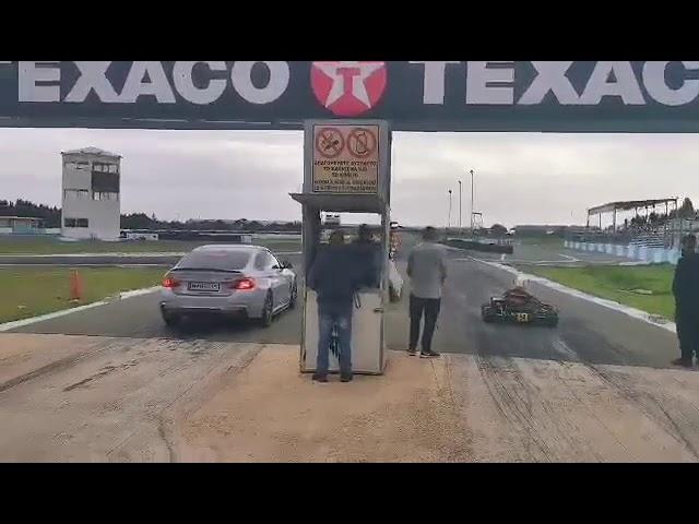 Το kart σε ευθεία, είναι άραγε πιο γρήγορο από ένα supercar των 500HP;