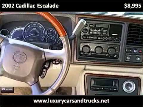 2002 Cadillac Escalade Used Cars Port St. Lucie FL