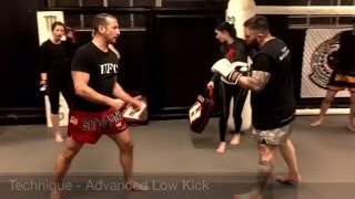Advanced Missed Kick Recovery Technique by Mark Dellagrotte
