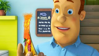 Fireman Sam US 🚒 My Meal Is On Fire!  | Fire Rescue 🔥Best Rescue Compilation 🔥Kids Movie