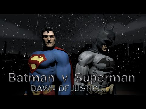 Batman Vs Superman: Dawn of Justice - Full Movie [SFM Animation]