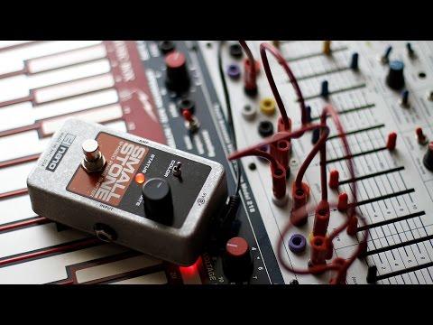 Buchla Music Easel - Sound Sketch #12 (with Electro-Harmonix Nano Small Stone)