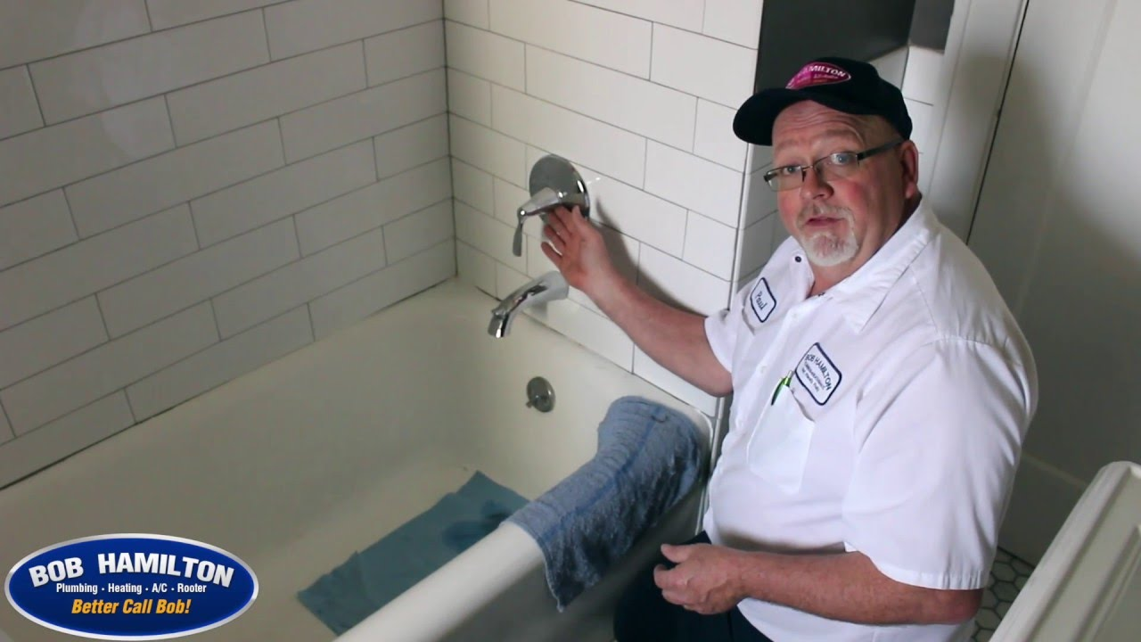 How To Replace A Kohler Shower Faucet Cartridge - YouTube