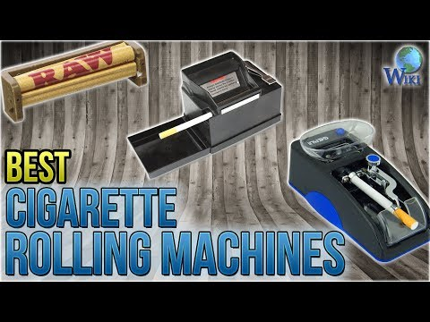 10 Best Cigarette Rolling Machines 2018 - YouTube