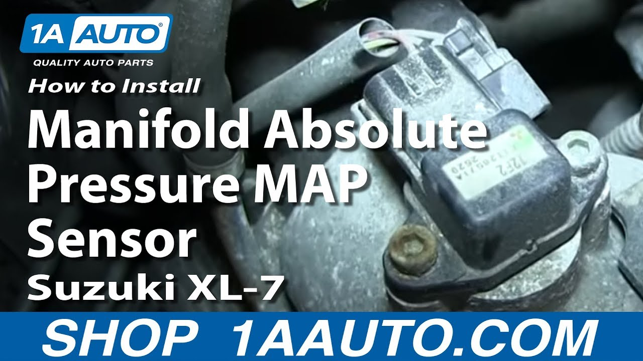 how to install replace manifold absolute pressure map sensor suzuki xl 7 youtube [ 1920 x 1080 Pixel ]