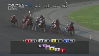 Mohawk, Sbred, Aug. 19, 2016 Race 1