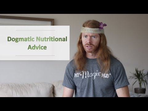 Dogmatic Nutritional Advice - Ultra Spiritual Life episode 109