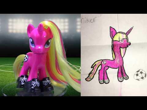 Custom Soccer Pony || Fan Custom Friday #20 || Custom OC Pony Giveaway #FCF