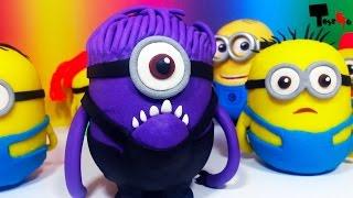 Minions Surprise Eggs Play-Doh