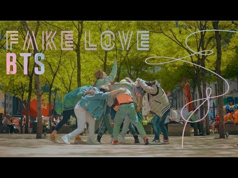 [KPOP IN PUBLIC CHALLENGE NYC] BTS (방탄소년단) | 'FAKE LOVE'DANCE COVER by I LOVE DANCE
