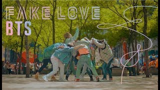 [KPOP IN PUBLIC CHALLENGE NYC] BTS (방탄소년단) | 'FAKE LOVE'  DANCE COVER by I LOVE DANCE