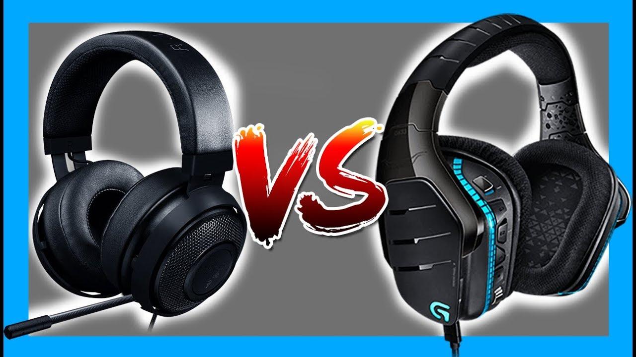 Logitech G633 VS Razer Kraken Pro V2 - YouTube ba39b48071