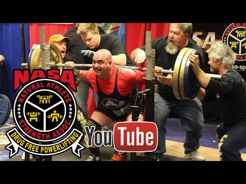 NASA 2015 Natural Nationals Powerlifting: Mike Rhea