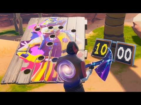 Get A Score Of 10 Or More On A Carnival Clown Board Guide (14 Days Of Summer Challenge) - Fortnite