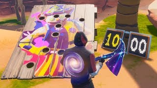 Obtenez une note de 10 ou plus sur un guide du Carnaval Clown Board (14 Days of Summer Challenge) - Fortnite
