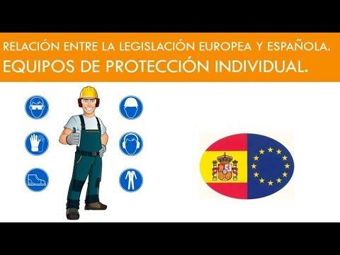 relaciÓn-entre-la-legislaciÓn-europea-y-espaÑola-sobre-los-epis