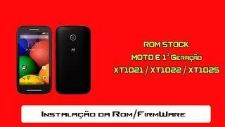 Como instalar a Rom Motorola Moto E 1°G XT1021, XT1022 e XT1025 erro de boot