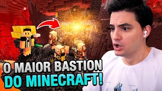 ENCONTREI O MAIOR BASTION DO MINECRAFT #61