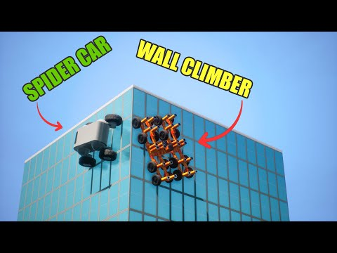 Spider Car VS Wall Climber | Brick Rigs - Which is Best? |