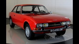 Peugeot 504 C12 Coupe 1973 -VIDEO- www.ERclassics.com