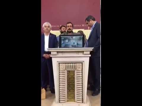 Berkin Elvan'ın vurulmasının 3'üncü yıldönümünde Sami Elvan'dan Meclis'te basın toplantısı