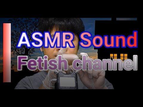 ASMR Latex Gloves Relaxation Gloves Slime Sound 212