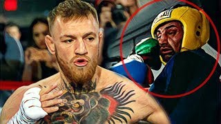 Conor McGregor won (12 -- 0) against Paulie Malignaggi!