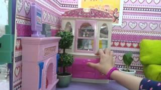 Домик для Барби своими руками(6-комнатные апартаменты Барби: ванная, спальня, гостиная, кухня, детская, гардеробная. Мебель своими руками:..., 2015-03-31T19:52:11.000Z)