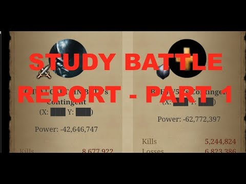 Clash Of Kings - Let's Analyze Battle Reports - Part 1
