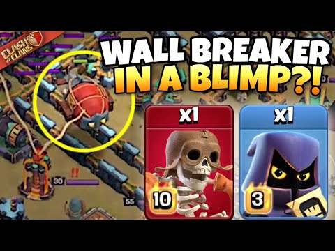 Download This PRO took WALL BREAKER in his BLIMP with Headhunters TOO?! Clash of Clans eSports