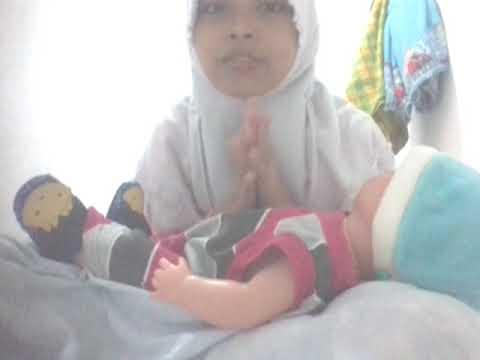 Bermain bayi yg bisa pipis nangis ketawa dll ##bersamaku isni nuraini