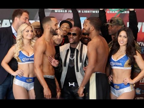 WAR CHUNKY! - JAMES DeGALE v BADOU JACK - *FULL & UNCUT* OFFICIAL WEIGH-IN VIDEO (FROM BROOKLYN)