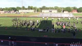Tri-Valley Viking HS Marching Band 2013 - Pontiac Indian Showdown