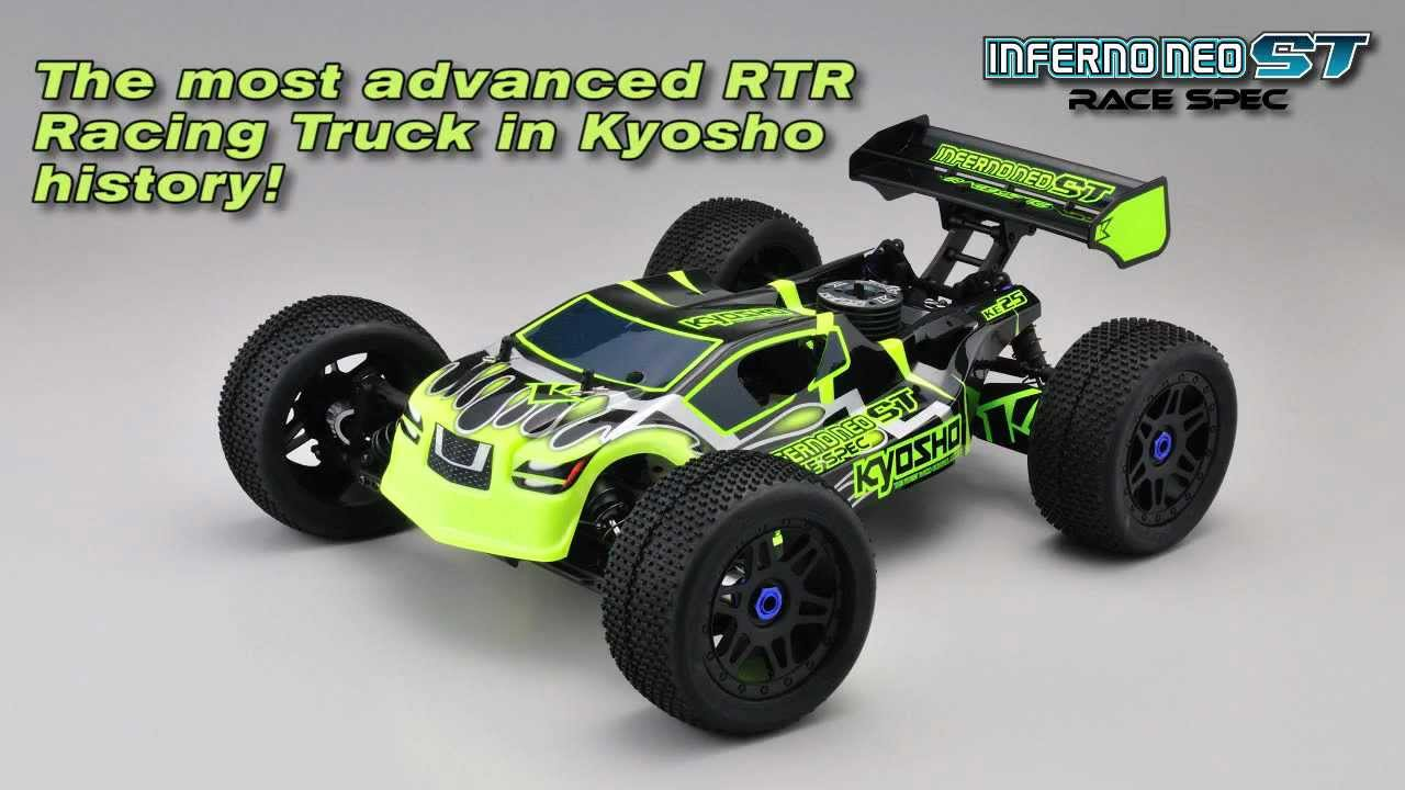 kyosho inferno neo st race spec truck youtube. Black Bedroom Furniture Sets. Home Design Ideas